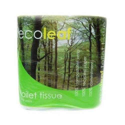 Ecoleaf  Toilet Tissue 4 Pack