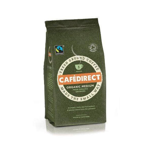 Roast & Ground Coffee - Organic Medium 227g - honearthly