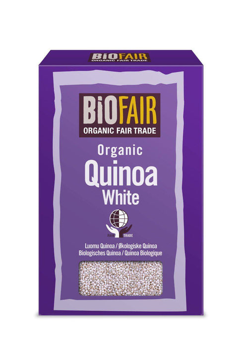 White Quinoa Grain - Fairtrade 500g x 6 - honearthly