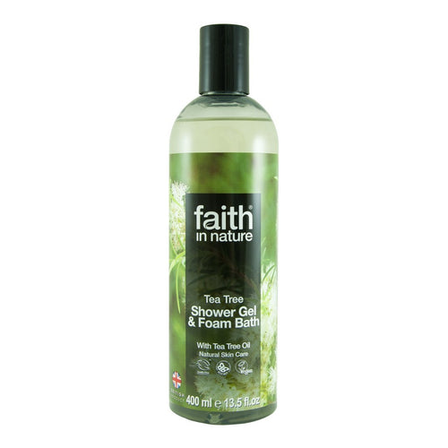 Tea Tree Foam Bath & Shower Gel 400ml - honearthly