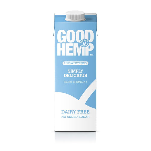 Good Hemp  Unsweetened Hemp Drink 1Ltr