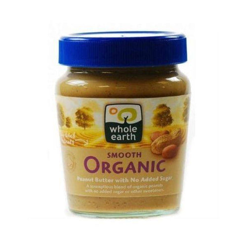 Peanut Butter - Organic Smooth 227g - honearthly