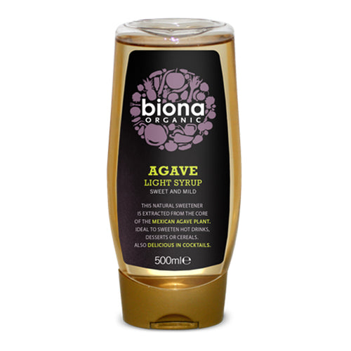 Agave Syrup Light 500ml - honearthly