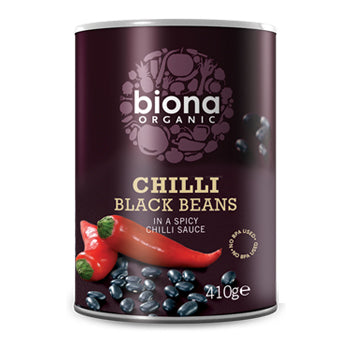 Biona  Black Bean Organic Chilli 400g - honearthly