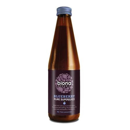 Blueberry Juice - 100% Pure 330ml - honearthly