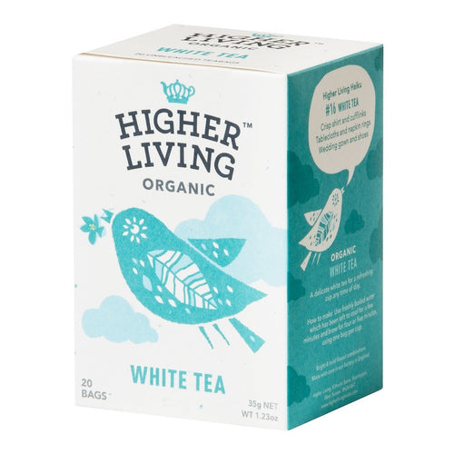 White Tea - Enveloped 20 Bags - honearthly