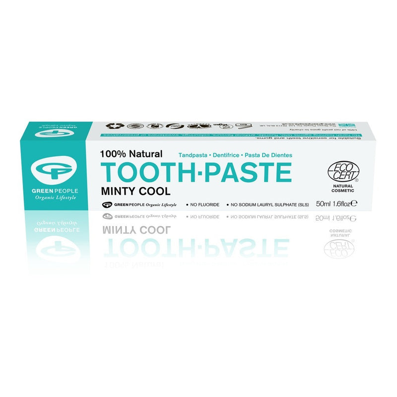 Green People  Minty Cool Toothpaste 50ml - honearthly