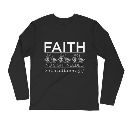 Forgiven Long Sleeve Fitted Crew