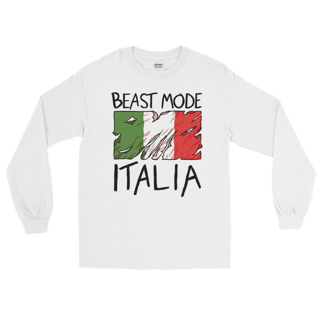 Beast Mode Italia Long Sleeve T-Shirt