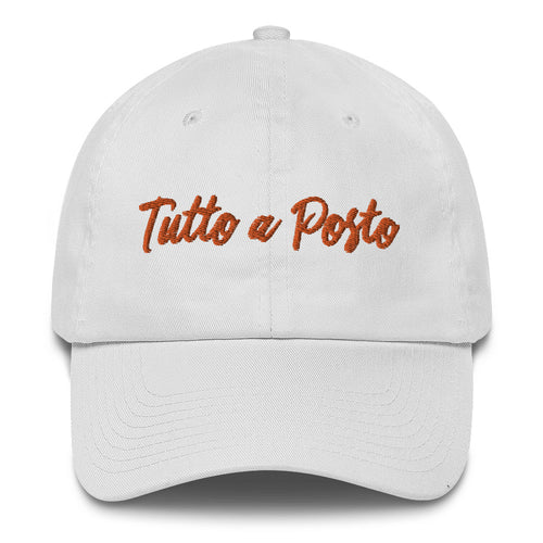 Tutto a Posto Cotton Cap