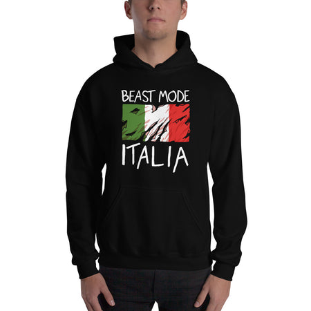 A Boy Went Back to Napoli (FLAG PRINT)