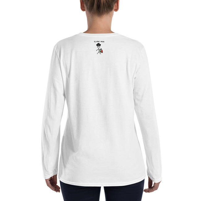 Rose Ladies' Long Sleeve T-Shirt