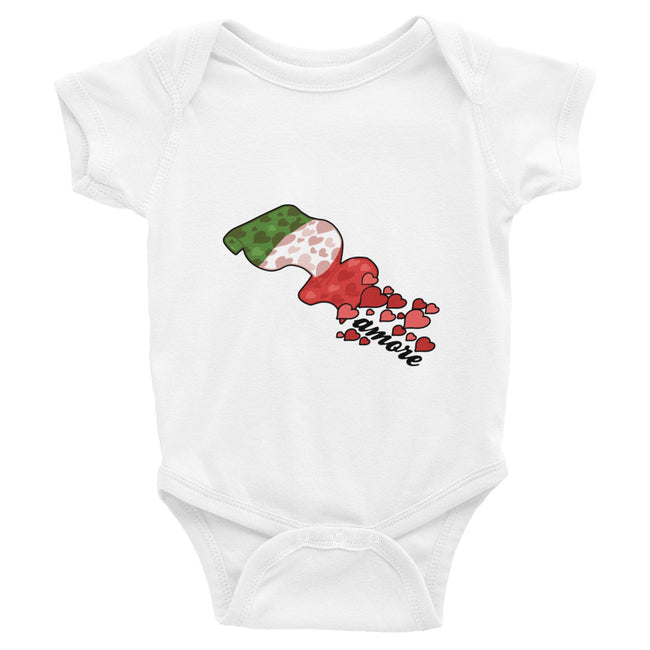 Hearts Flag Infant Bodysuit