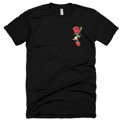 Pocket Rose Short sleeve soft t-shirt