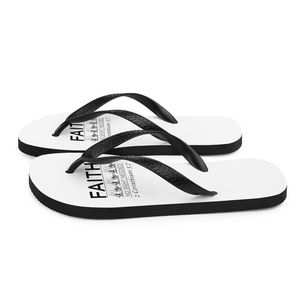 Walk by Faith Flip-Flops