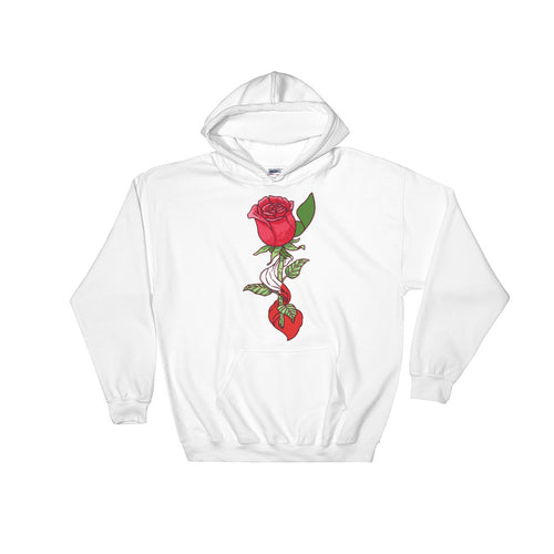 Italian Rose Hooded Sweatshirt