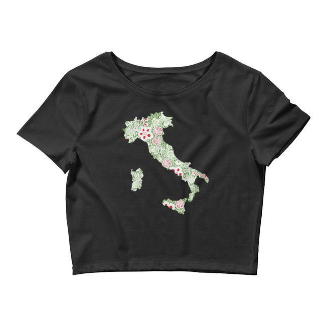 Italian Boot Women's Crop Tee