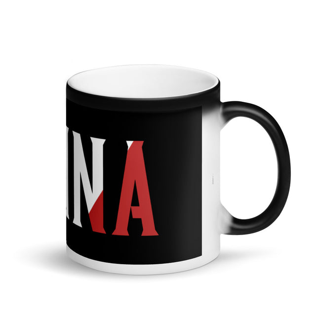 Nonna Matte Black Magic Mug