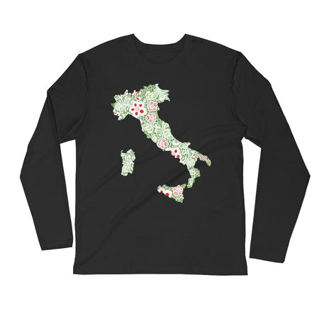 Forza Long Sleeve Fitted Crew
