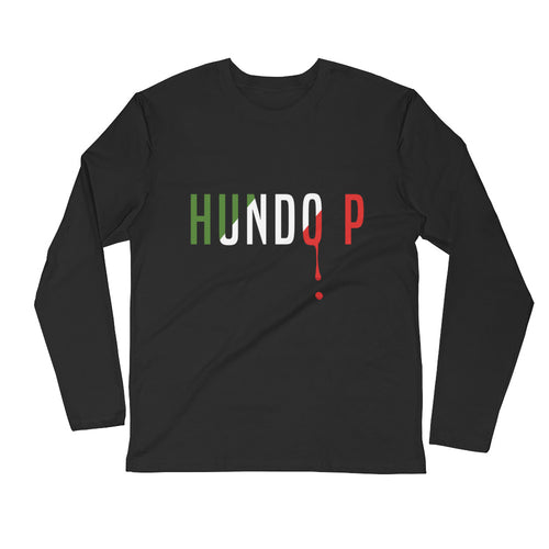 Hundo P Long Sleeve Fitted Crew