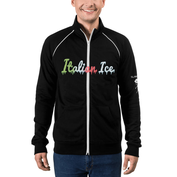 Italian Ice Piped Fleece Jacket