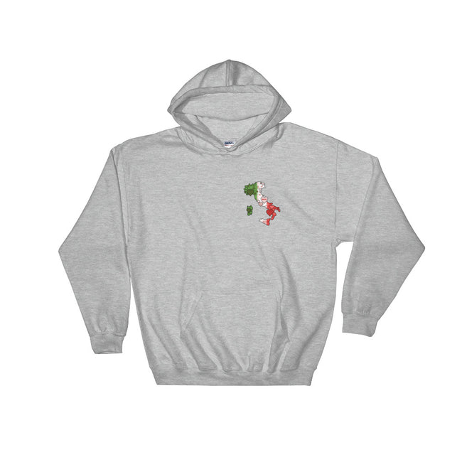 Heart Boot Hooded Sweatshirt