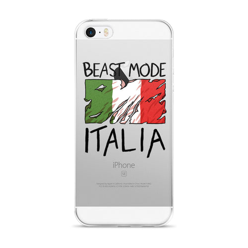 Italia Beast Mode iphone case