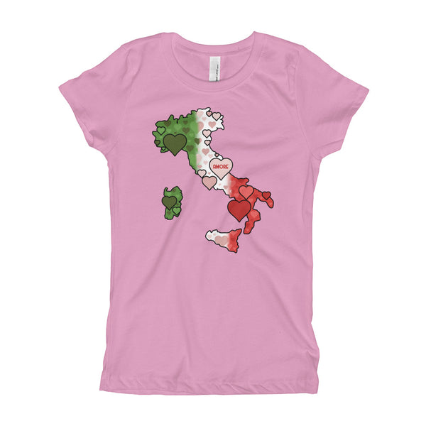 Heart Boot Girl's T-Shirt