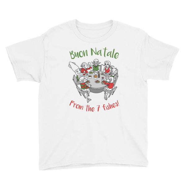 Feast of the 7 fishes, Italian Christmas T-shirt