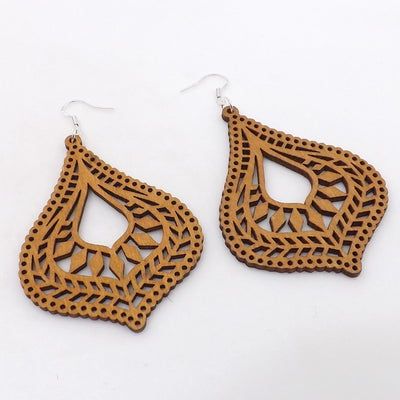 Poly Wooden Earrings