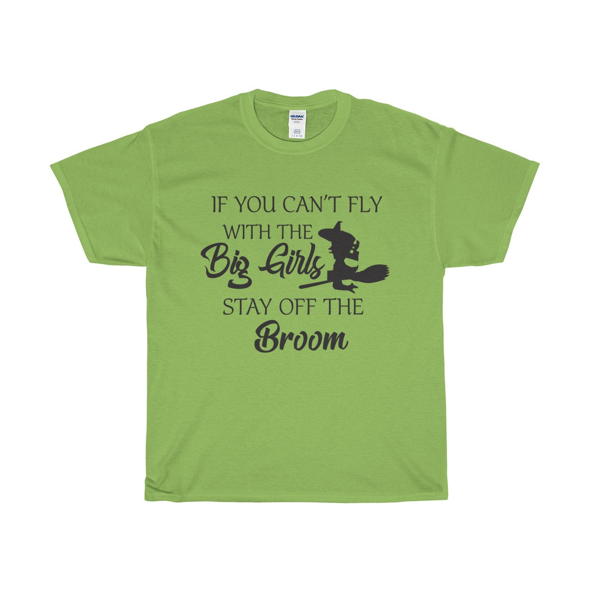 Stay of the broom Unisex Heavy Cotton Tee - Diva & noel