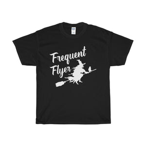 Frequent flyer Unisex Heavy Cotton Tee - Diva & noel