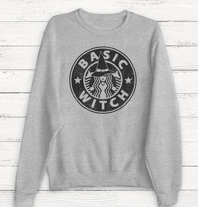 Unisex Heavy Blend™ Basic witch Crewneck Sweatshirt - Diva & noel
