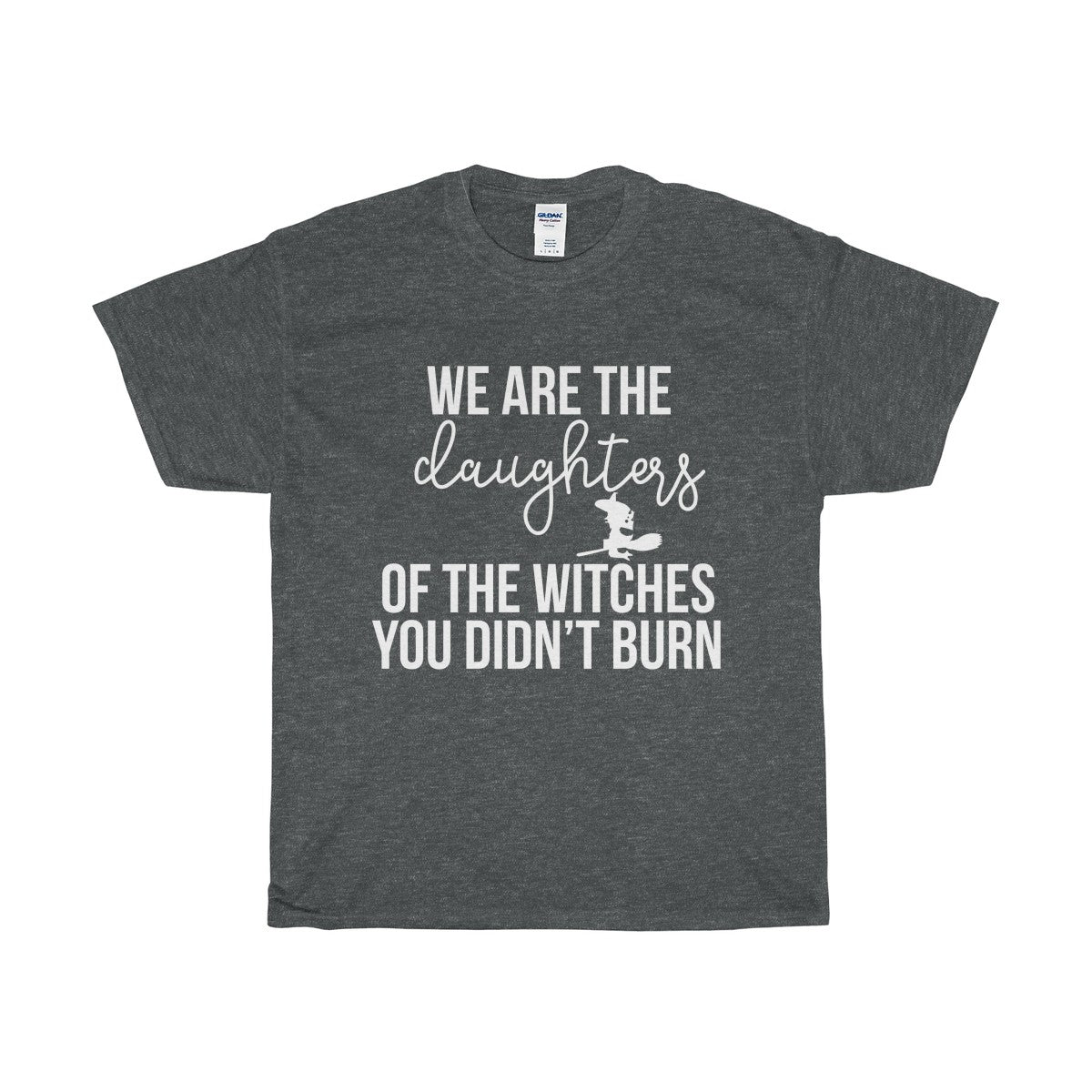 daughters of witches 1Unisex Heavy Cotton Tee - Diva & noel