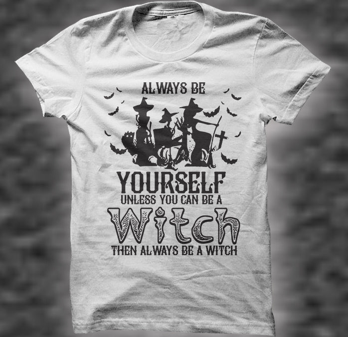 Always be a witch Unisex Heavy Cotton Tee - Diva & noel
