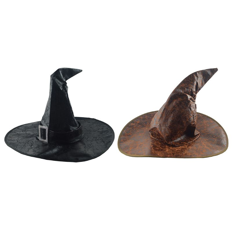 Faux Leather Witch Hats - Diva & noel