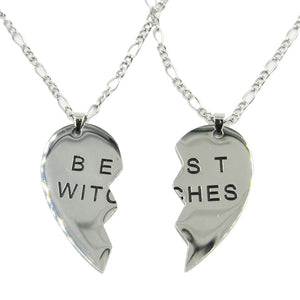 Best Witches Heart Shaped Necklace Pendant - Diva & noel
