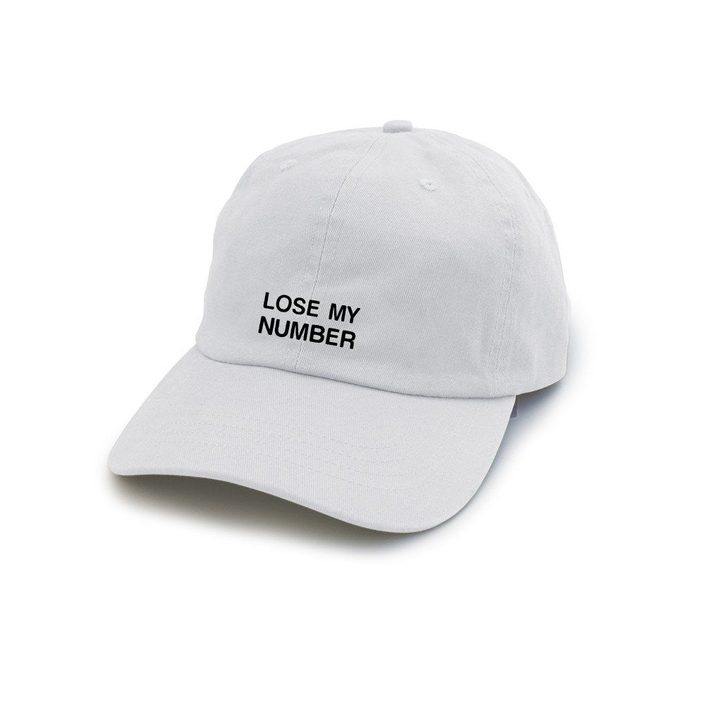Lose My Number Hat - Cuppa Tee Store