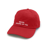 Never Heard Of You Hat - Cuppa Tee Store