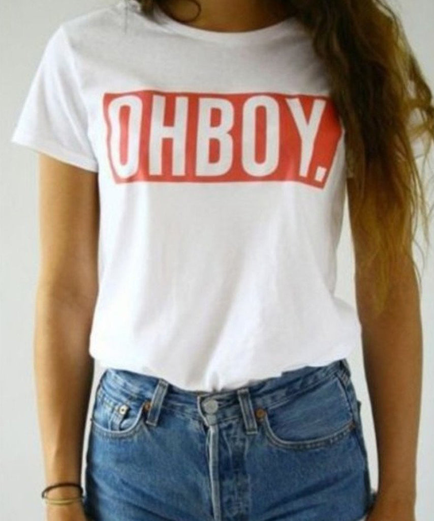 Oh Boy T-Shirt - Cuppa Tee Store