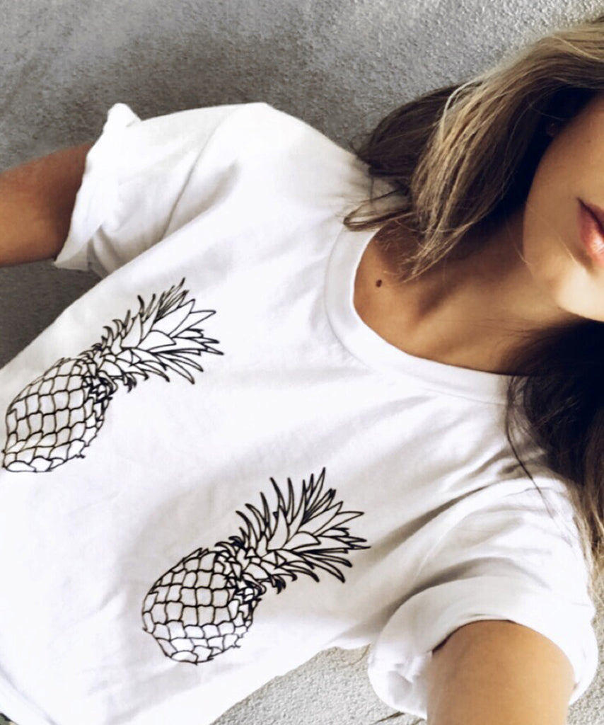 Pineapple Boobs T-Shirt