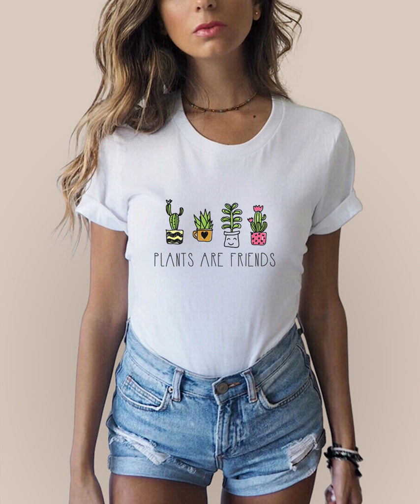 Plants Are Friends T-Shirt - Cuppa Tee Store