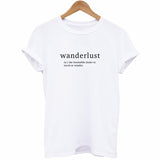 Wanderlust Definition T-Shirt - Cuppa Tee Store