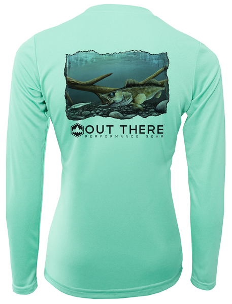 Women's Walleye Performance Short and Long Sleeve