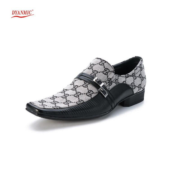 Slip-on Buckle Dress Shoes