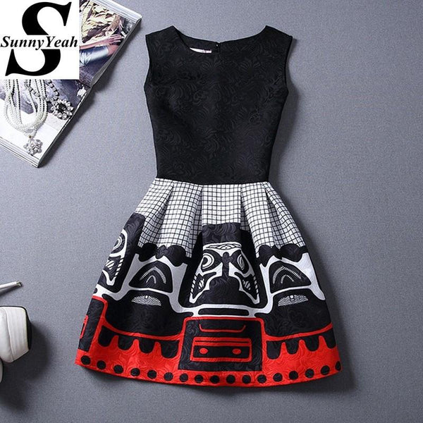 Ladies Vintage Style Dress
