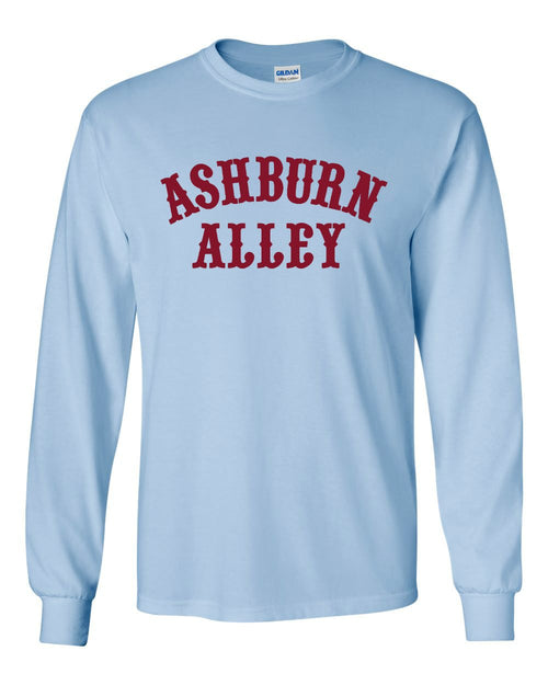 Ashburn Alley MENS Long Sleeve Heavy Cotton T-Shirt