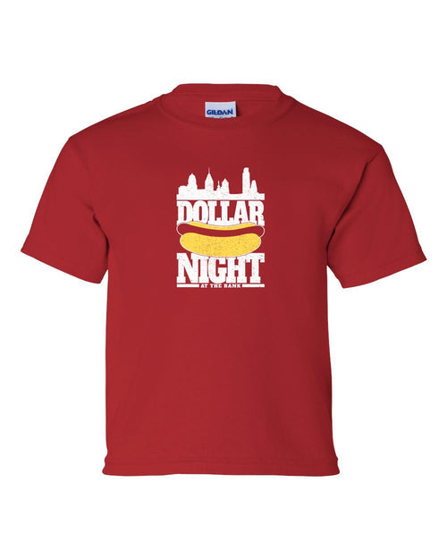 Dollar Dog Night KIDS T-Shirt