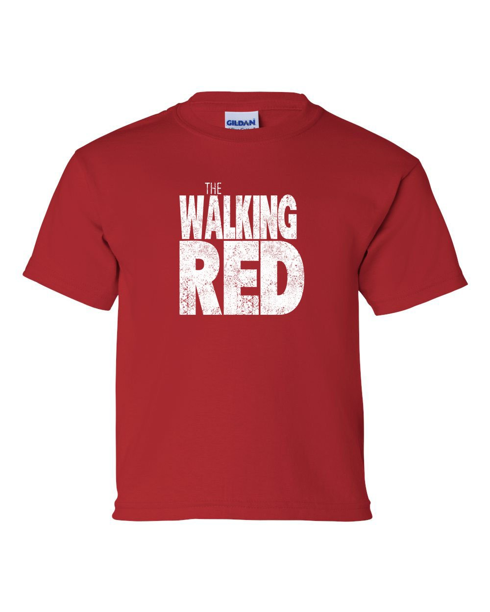 The Walking Red KIDS T-Shirt