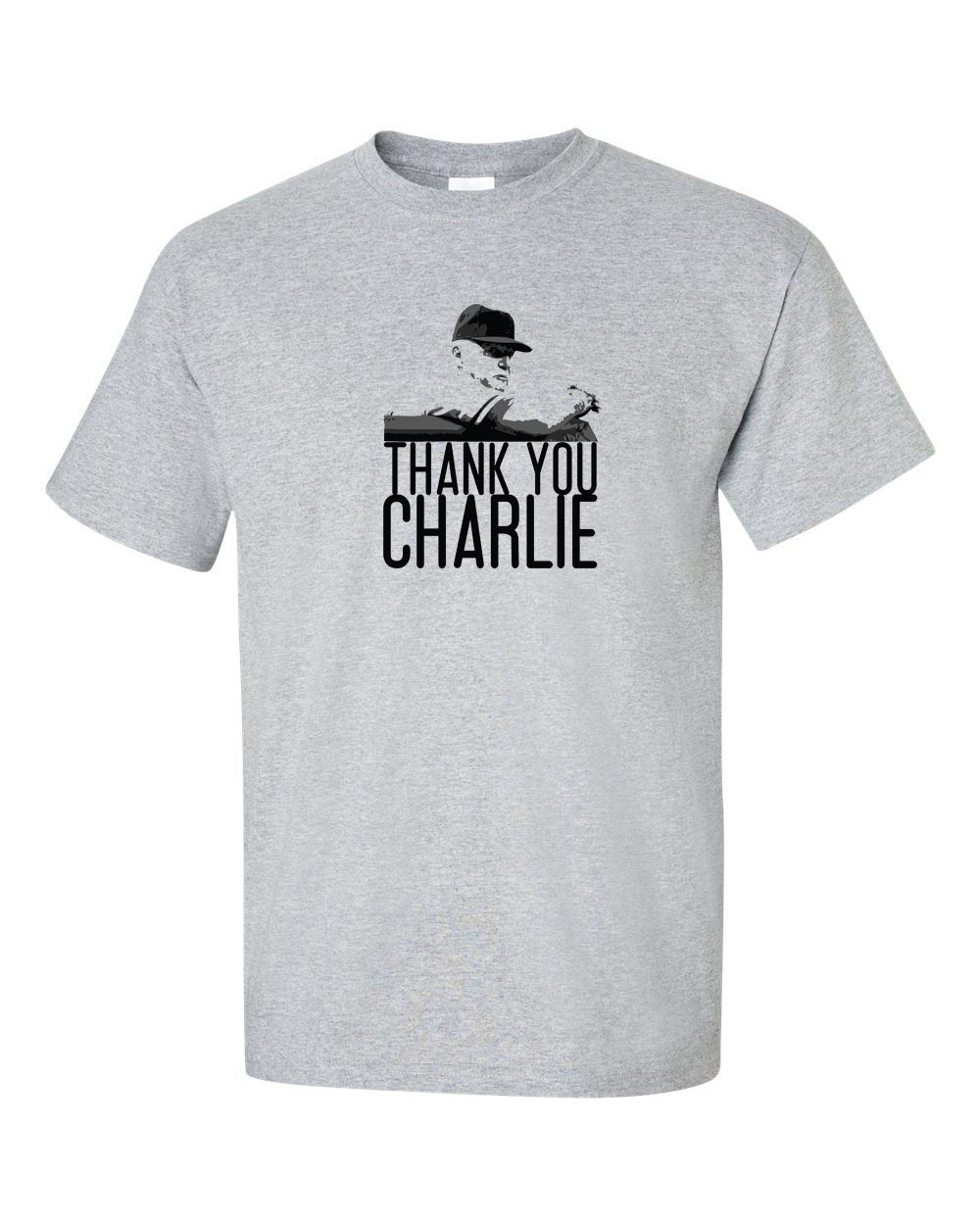 Thank You Charlie Mens/Unisex T-Shirt